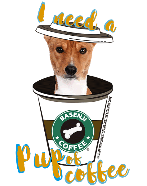 Basenji T Shirt - Coffee Mug