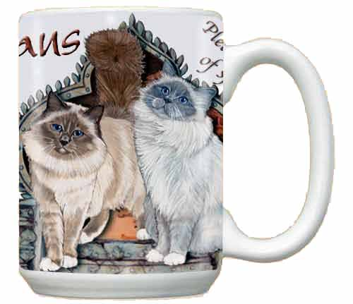 Birman Cat Coffee Mug