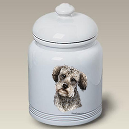 Schnoodle Treat Jar