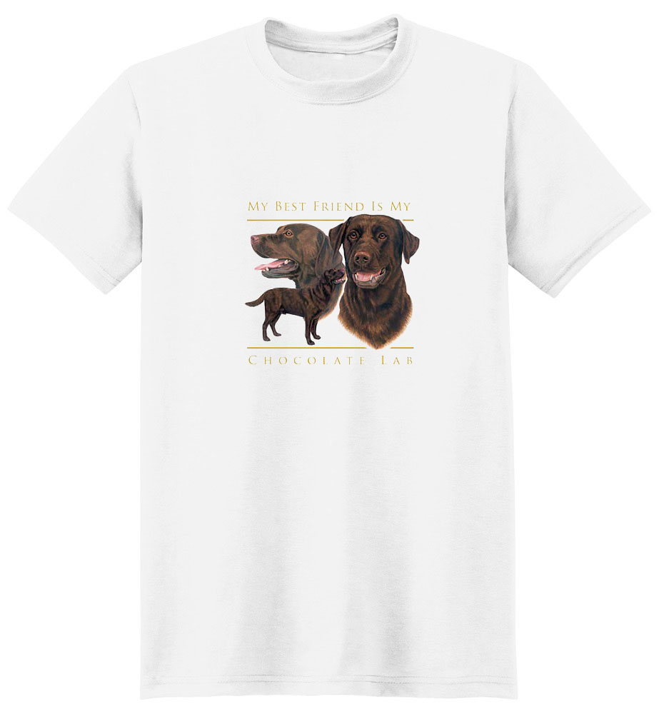 Chocolate Lab T-Shirt - Chocolate  Lab