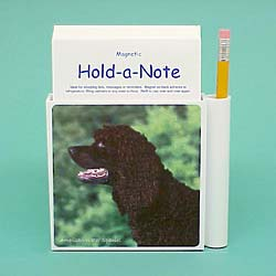 American Water Spaniel Hold-a-Note