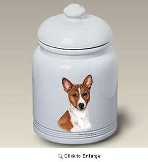 Basenji Treat Jar