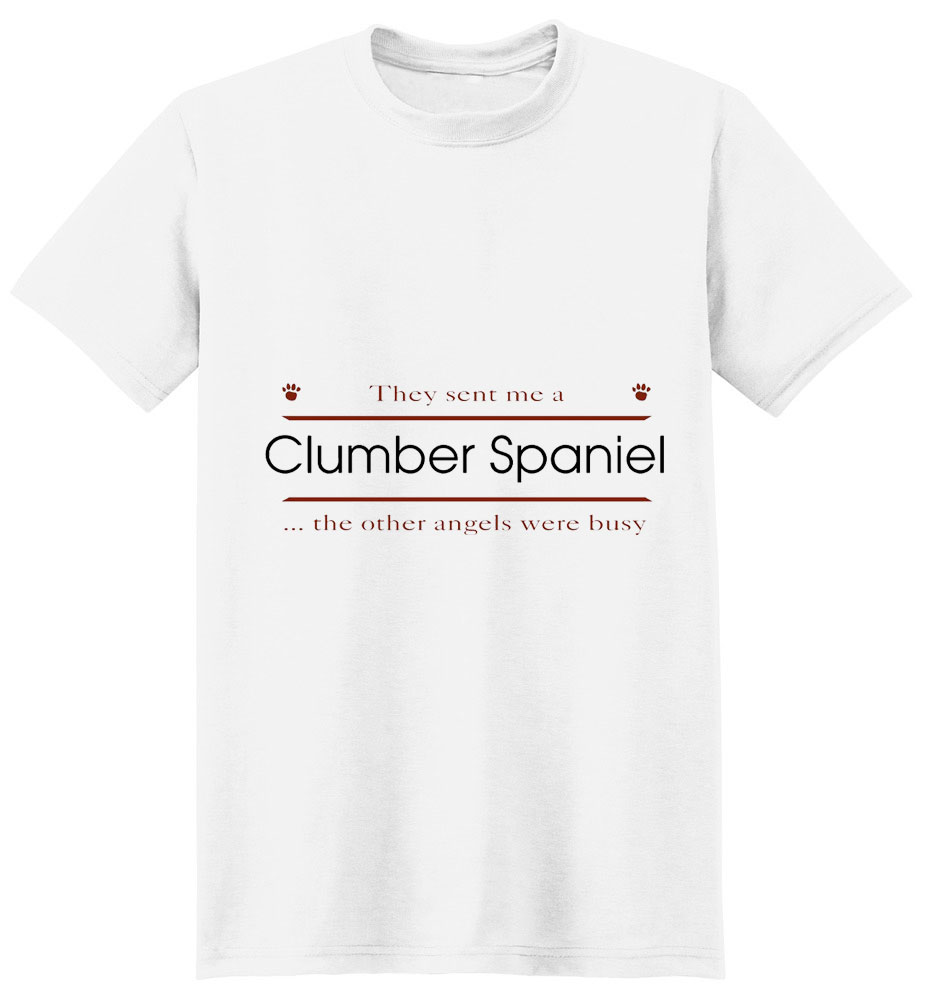Clumber Spaniel T-Shirt - Other Angels