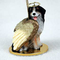 Bernese Mountain Dog Christmas Ornament Angel
