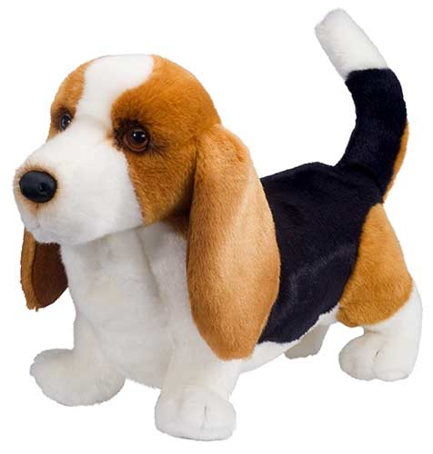 Harold the Basset Hound Plush Stuffed Animal 16