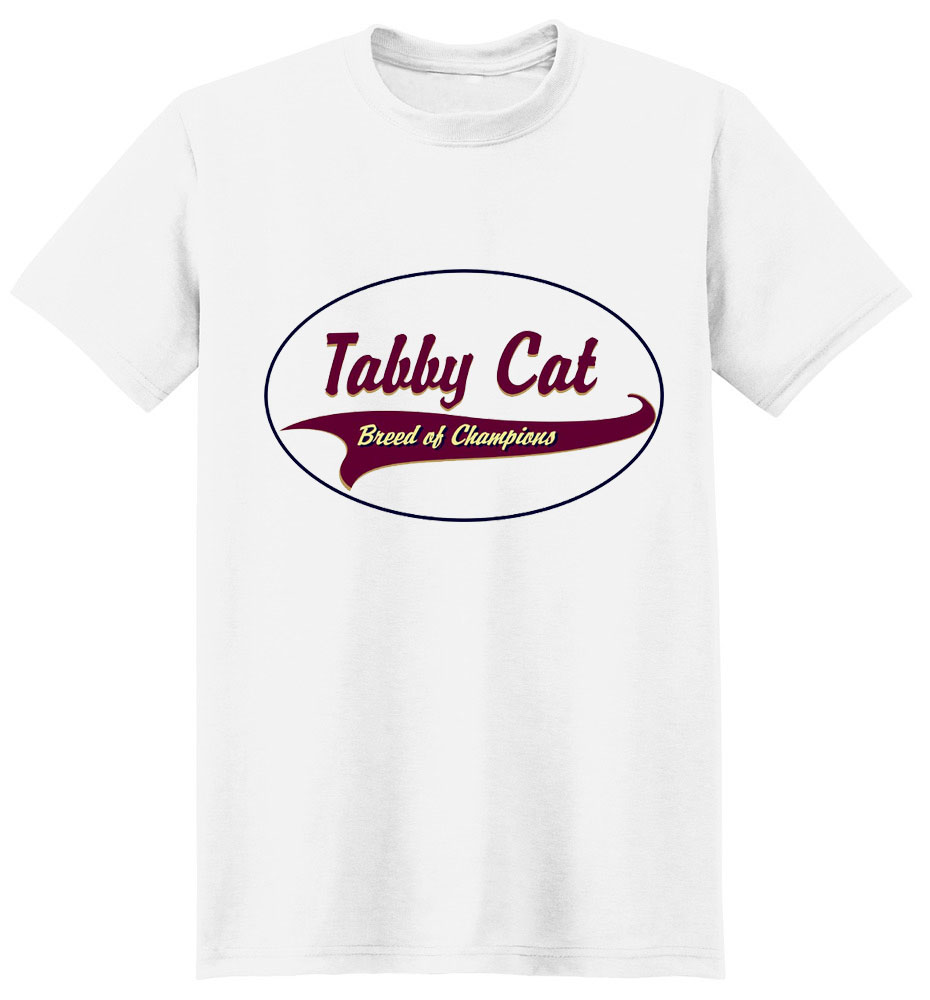 Tabby Cat T-Shirt - Breed of Champions