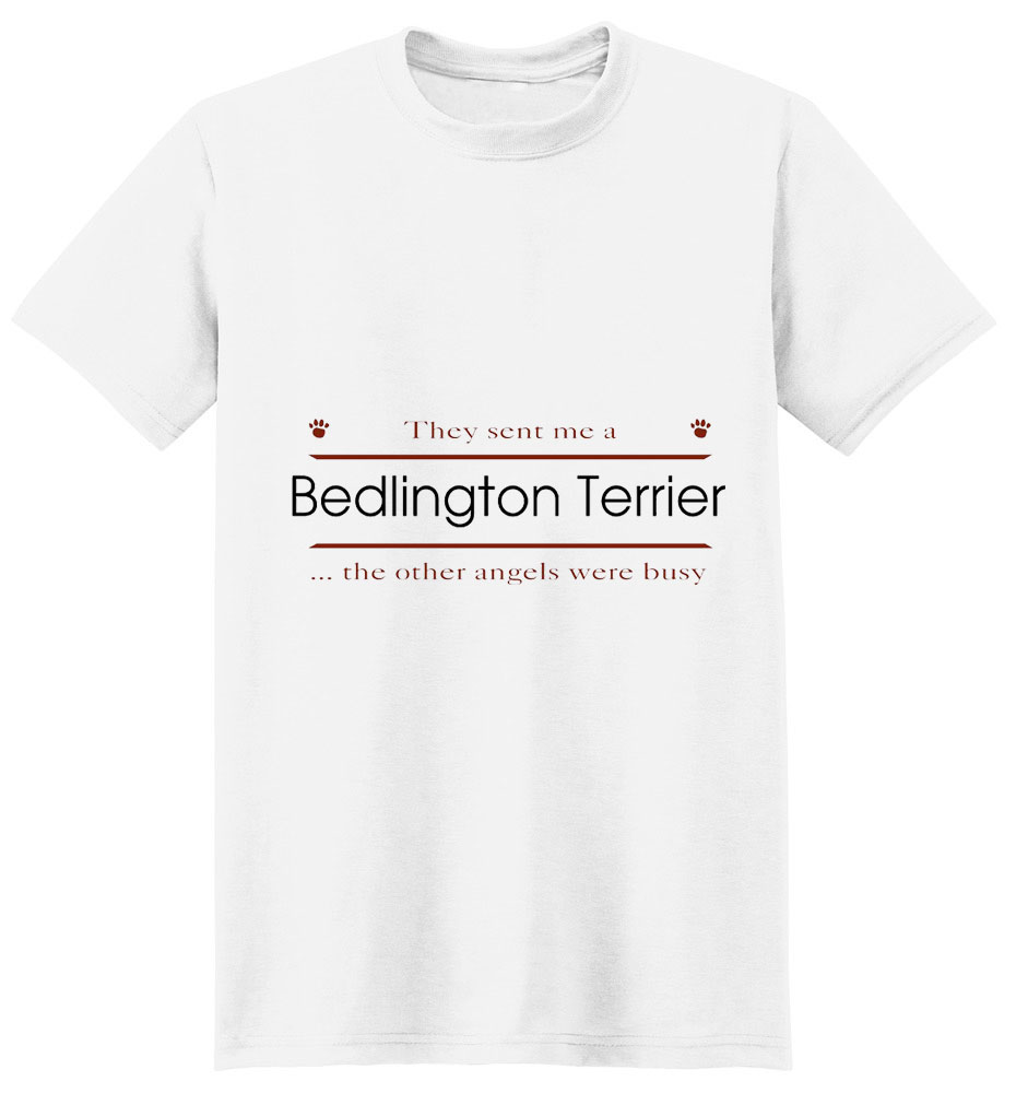 Bedlington Terrier T-Shirt - Other Angels