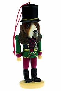 Basset Hound Ornament Nutcracker