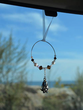 Basset Hound Car Charm - Sun Catcher
