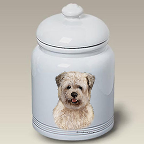 Glen Of Imaal Terrier Treat Jar