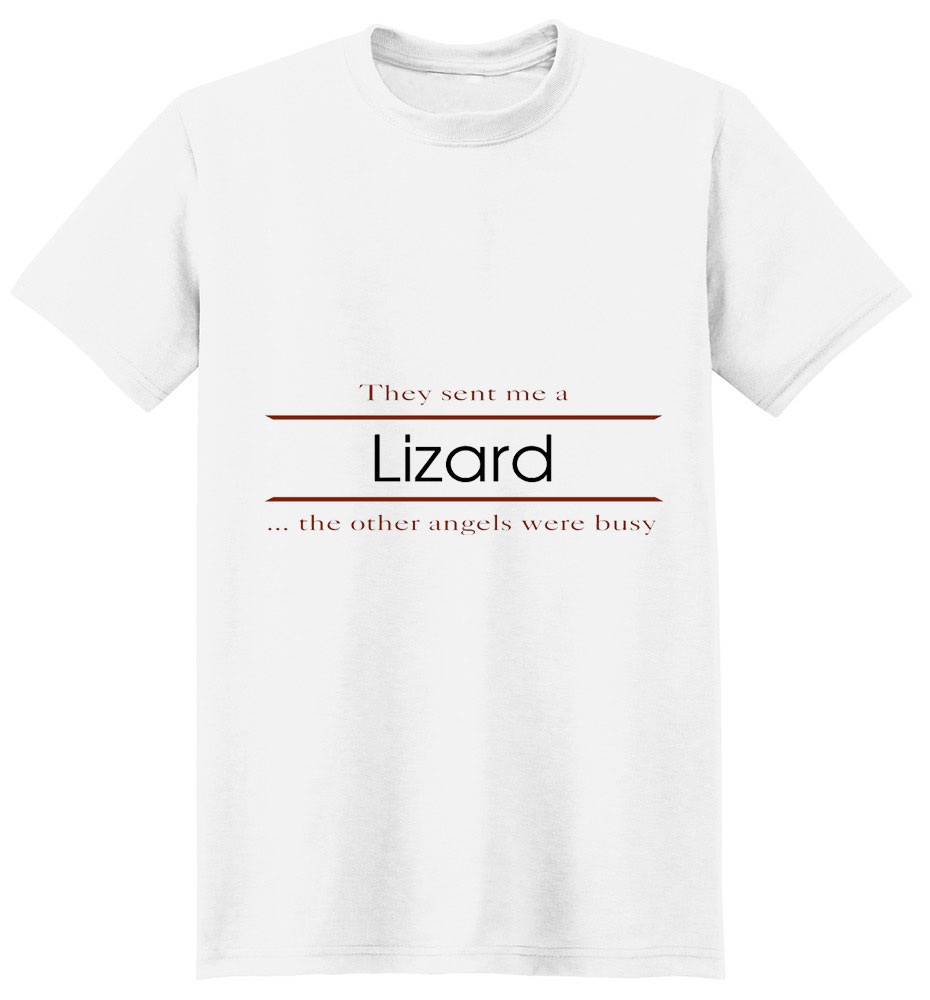 Lizard T-Shirt - Other Angels
