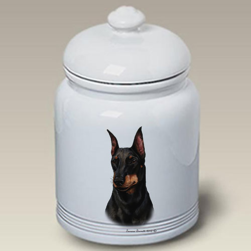 Manchester Terrier Treat Jar