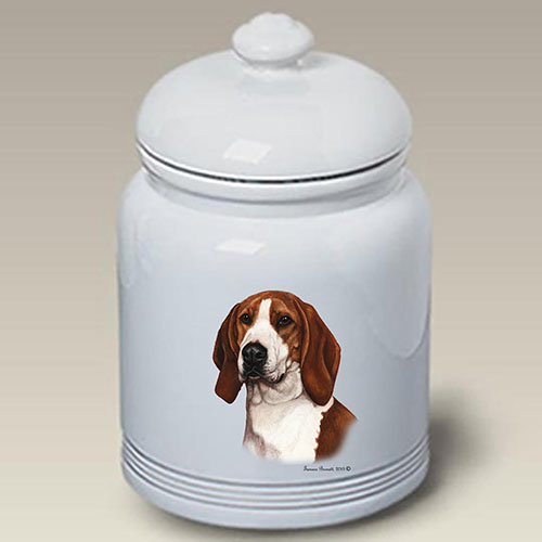 Treeing Walker Coonhound Treat Jar