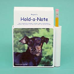 Manchester Terrier Hold-a-Note