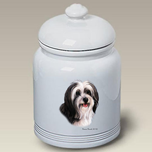 Tibetan Terrier Treat Jar