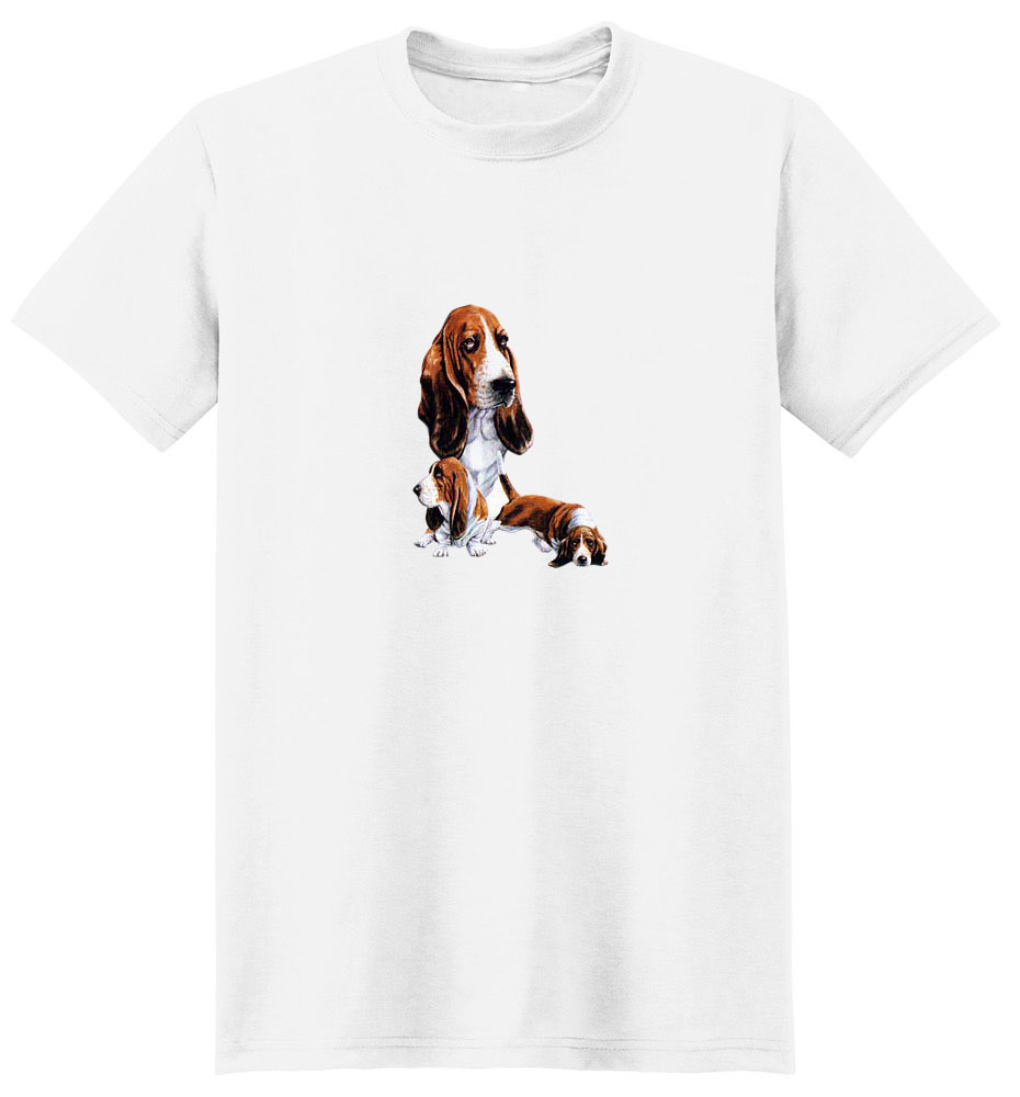 Basset Hound T-Shirt - Best Friends