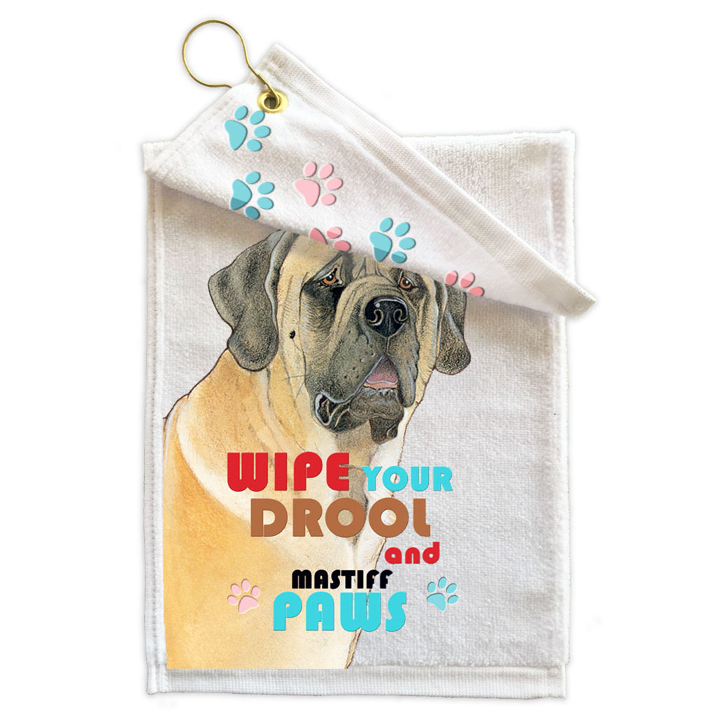 Mastiff Paw Wipe Towel