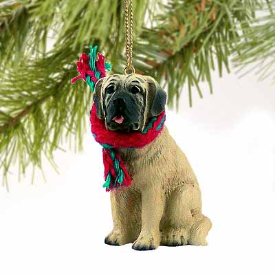 Mastiff Tiny One Christmas Ornament