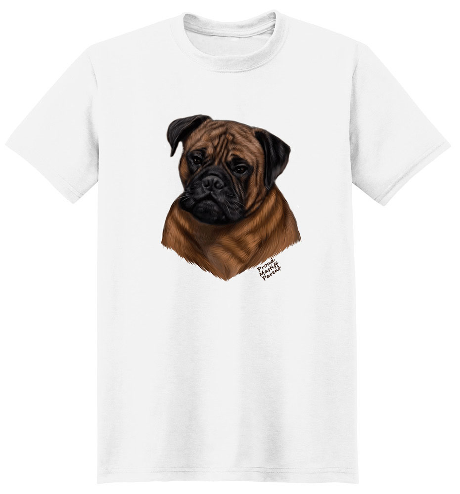 Mastiff T Shirt - Proud Parent