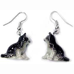 Tabby Cat Earrings True to Life