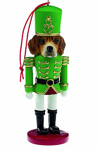 Beagle Ornament Nutcracker