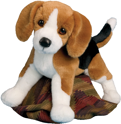 "Bernie Beagle 16"" Stuffed Plush Animal"