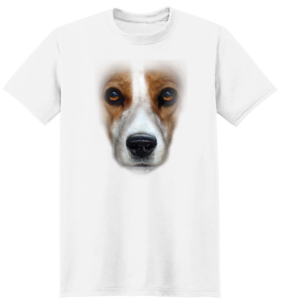 Beagle T Shirt Full Face