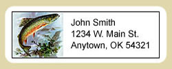 Trout Address Labels
