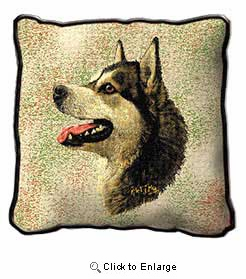 Alaskan Malamute Pillow