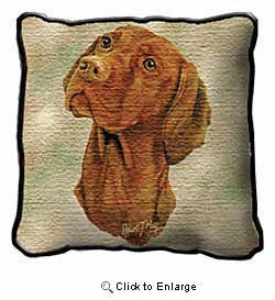 Vizsla Pillow