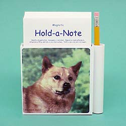 Finnish Spitz Hold-a-Note