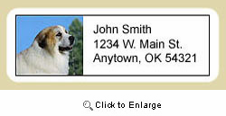 Great Pyrenees Address Labels