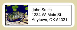 Turtle Address Labels