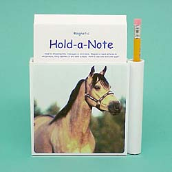Buckskin Horse Hold-a-Note