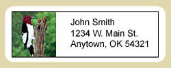 Woodpecker Address Labels