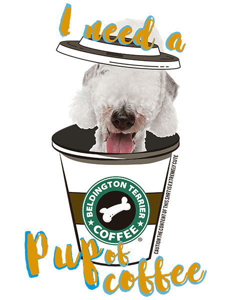 Bedlington Terrier T Shirt - Coffee Mug