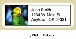 Parrot Address Labels