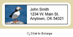 Puffin Address Labels