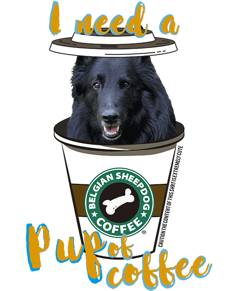 Belgian Sheepdog T Shirt - Coffee Mug