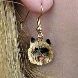 Cairn Terrier Authentic Earrings