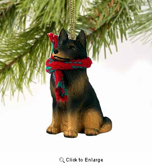 Belgian Tervuren Tiny One Christmas Ornament