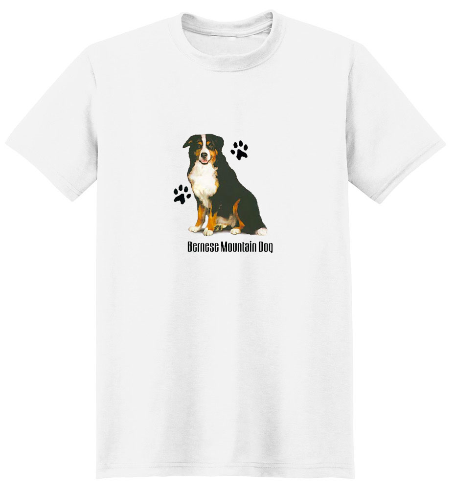 Bernese Mountain Dog T-Shirt - Stylin With Paws