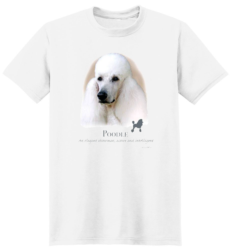 Poodle T Shirt by Howard Robinson