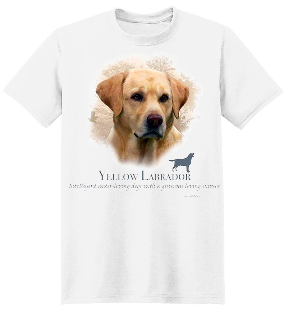 Yellow Lab T-Shirt - My Best Friend