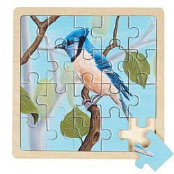 Blue Jay Puzzle