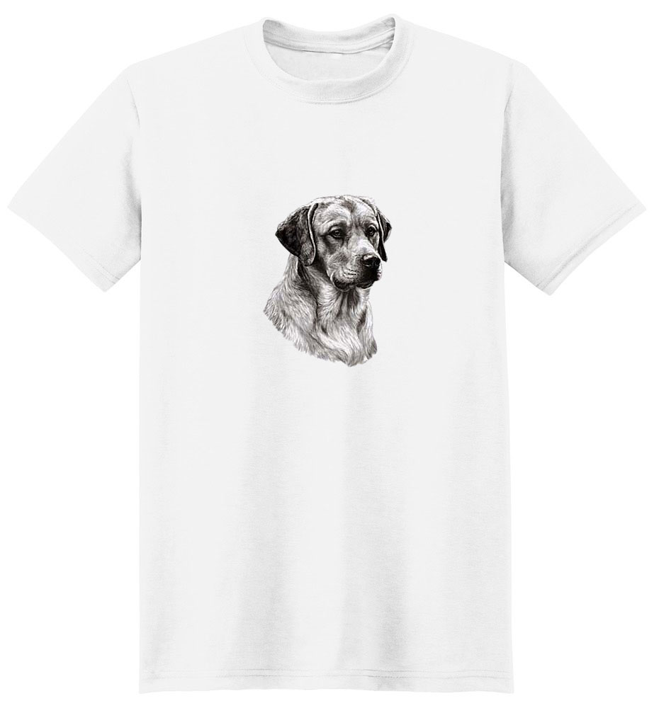 Yellow Lab T-Shirt - Eye Catching Detail