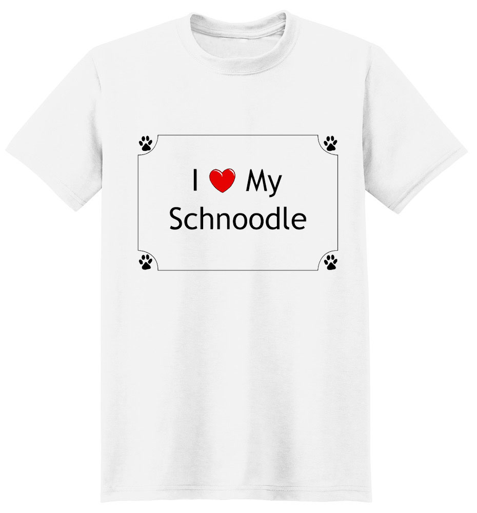 Schnoodle T-Shirt - I love my