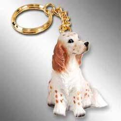 English Setter Keychain