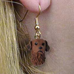 Chesapeake Bay Retriever Authentic Earrings