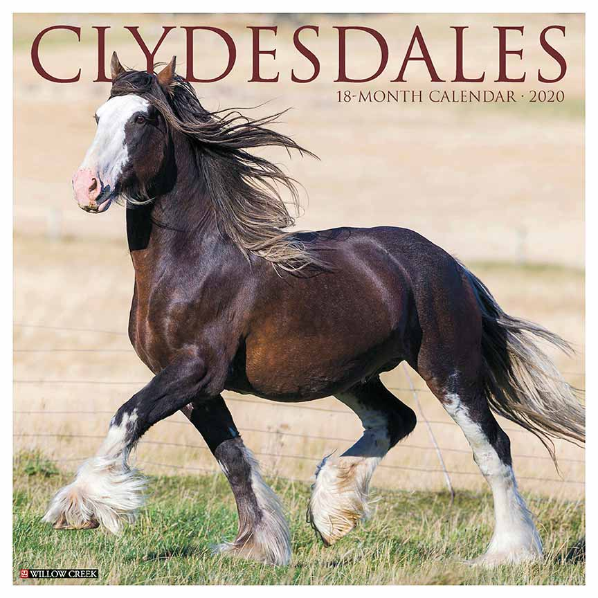 2020 Clydesdales Calendar Willow Creek